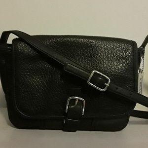 Coach Hadley Luxe grain leather field bag